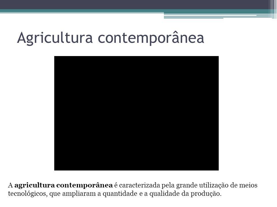 Agricultura contemporânea