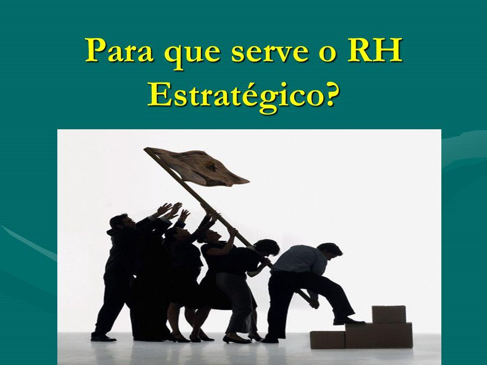 Para que serve o RH Estratégico