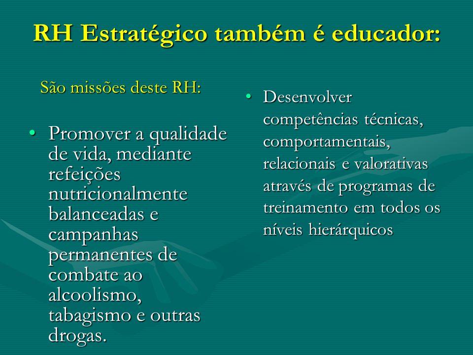 RH Estratégico também é educador: