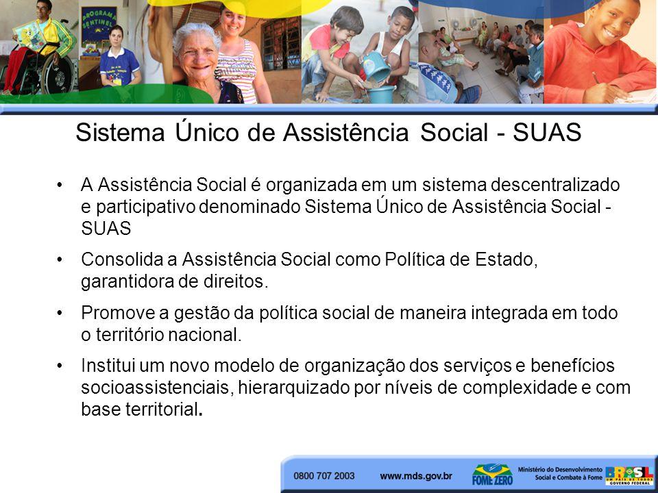 Sistema Único de Assistência Social - SUAS