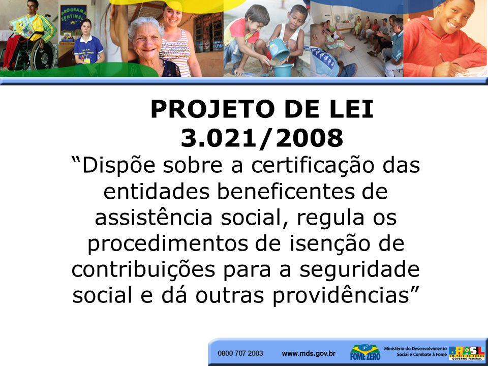 PROJETO DE LEI 3.021/2008