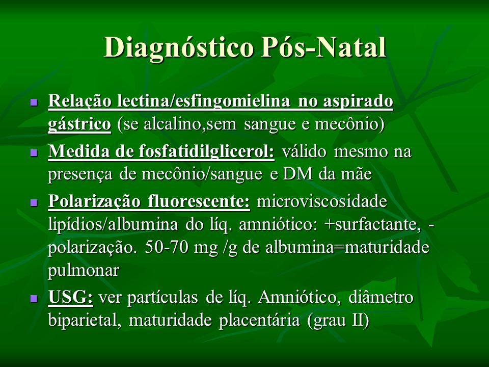 Diagnóstico Pós-Natal