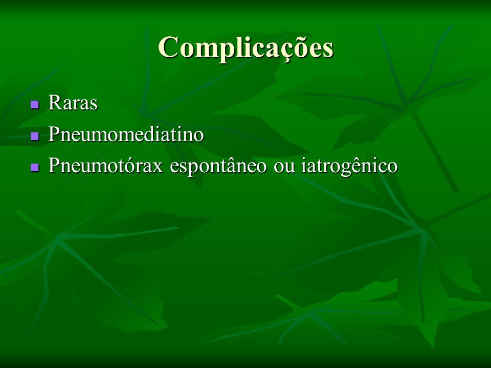 Complicações Raras Pneumomediatino
