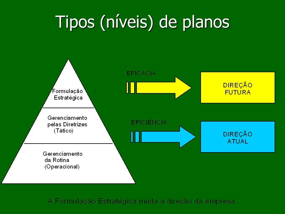 Tipos (níveis) de planos