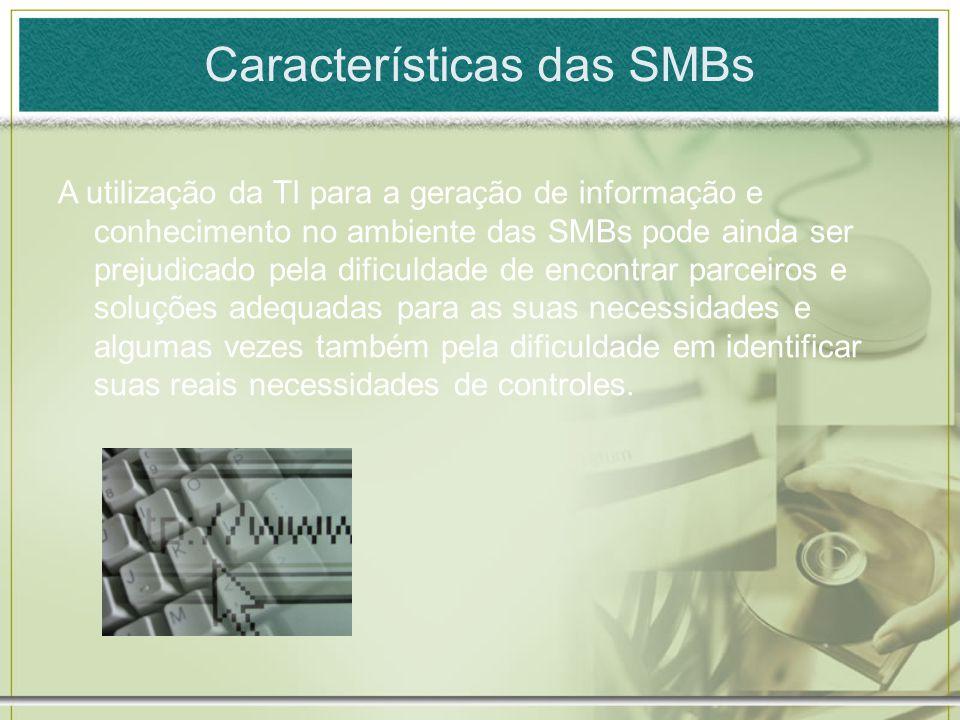 Características das SMBs