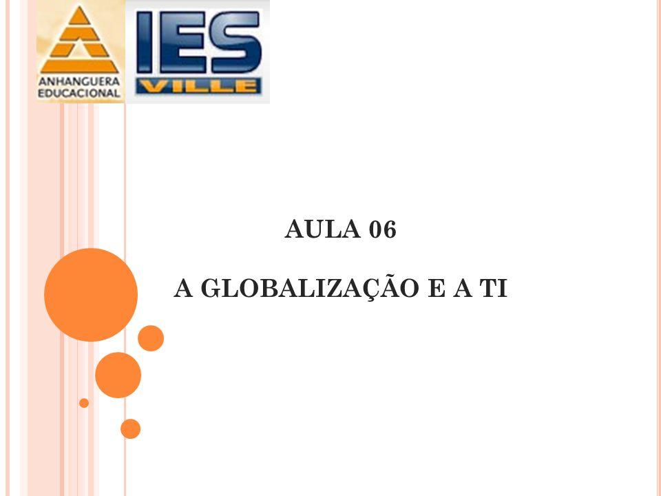 AULA 06 A GLOBALIZAÇÃO E A TI