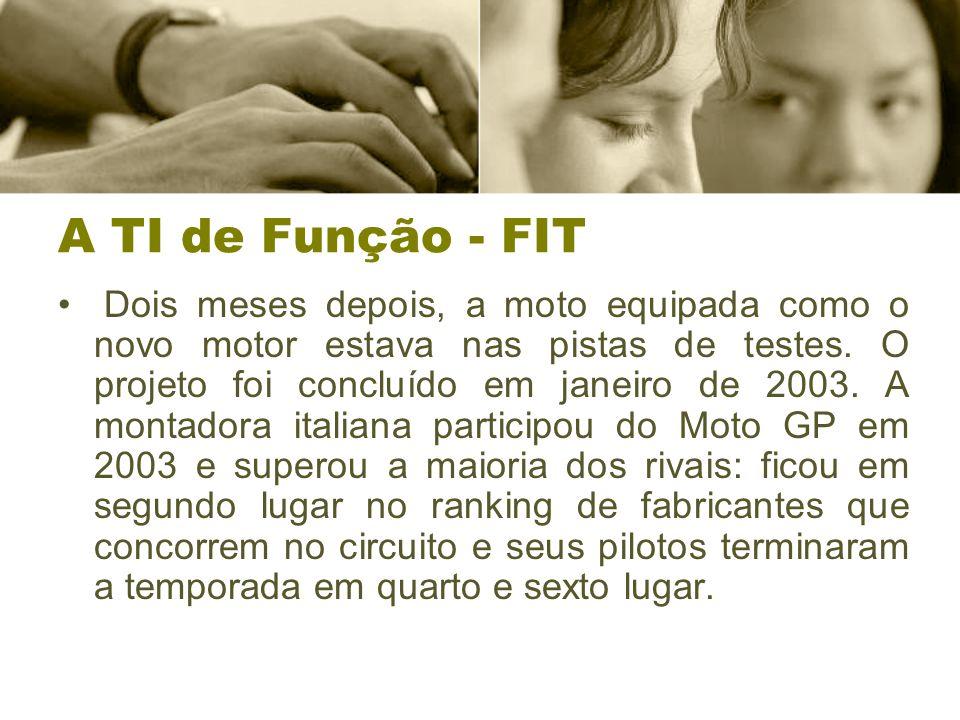 A TI de Função - FIT