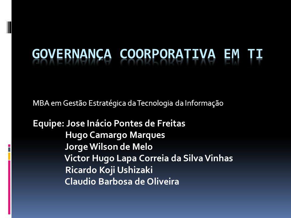Governança Coorporativa em TI