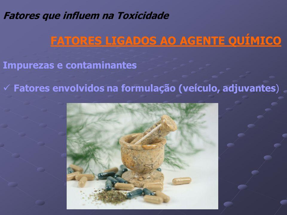 Fatores que influem na Toxicidade