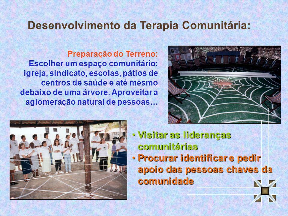 Desenvolvimento da Terapia Comunitária: