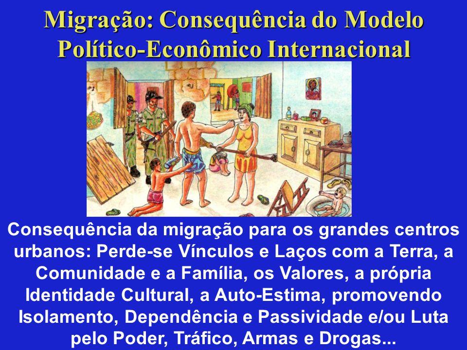 Migração: Consequência do Modelo Político-Econômico Internacional
