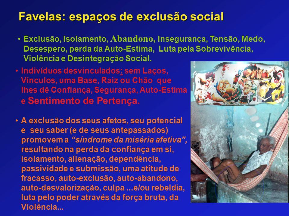 Favelas: espaços de exclusão social