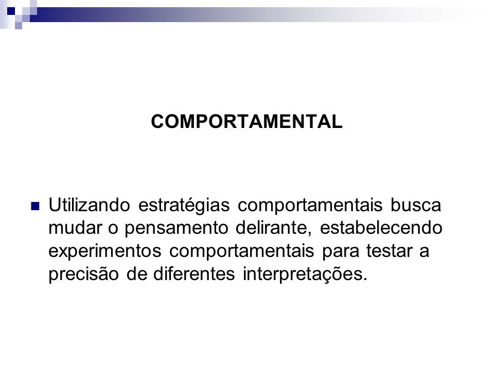 COMPORTAMENTAL