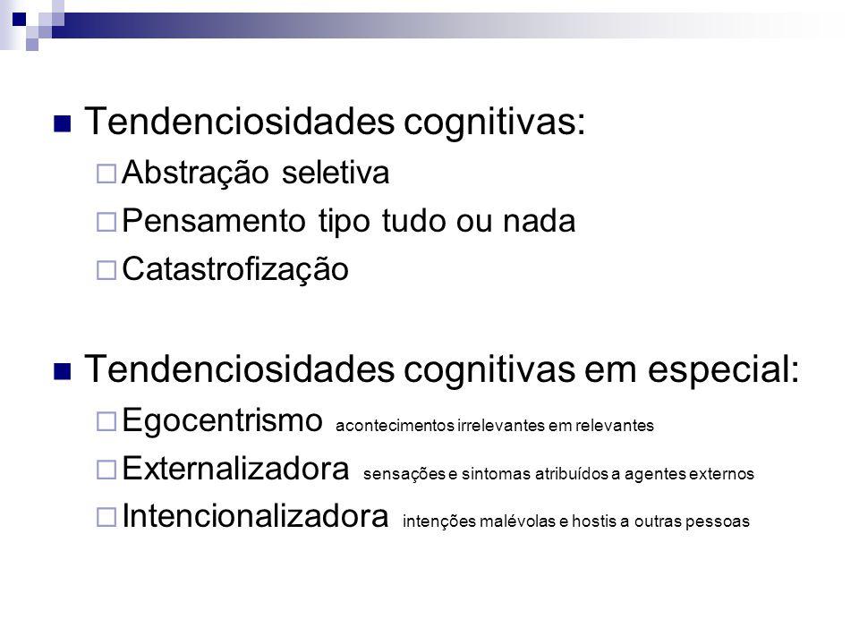 Tendenciosidades cognitivas: