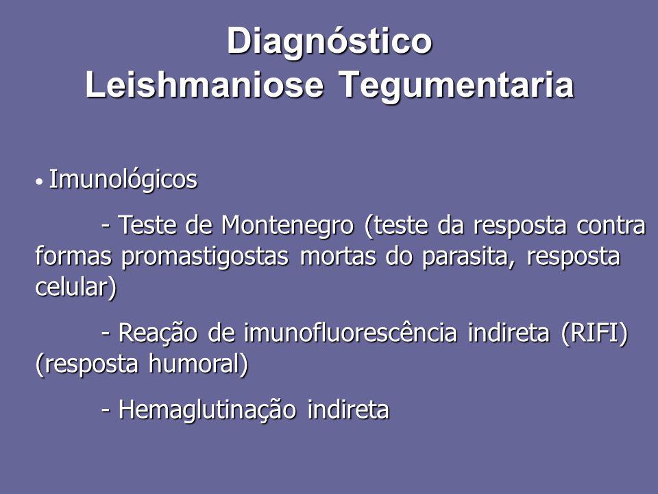 Diagnóstico Leishmaniose Tegumentaria