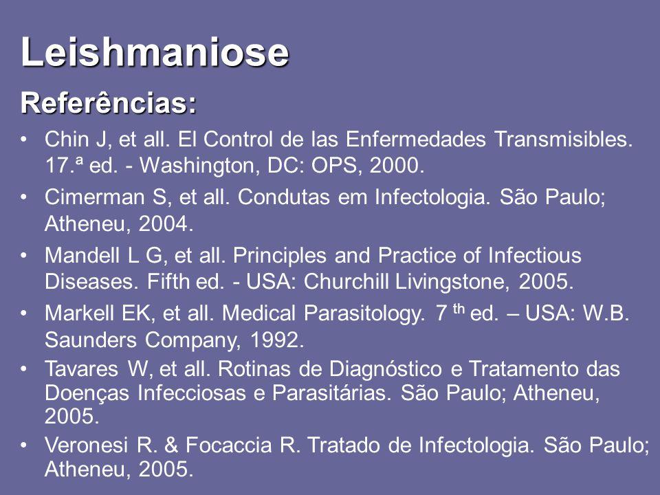 Leishmaniose Referências: