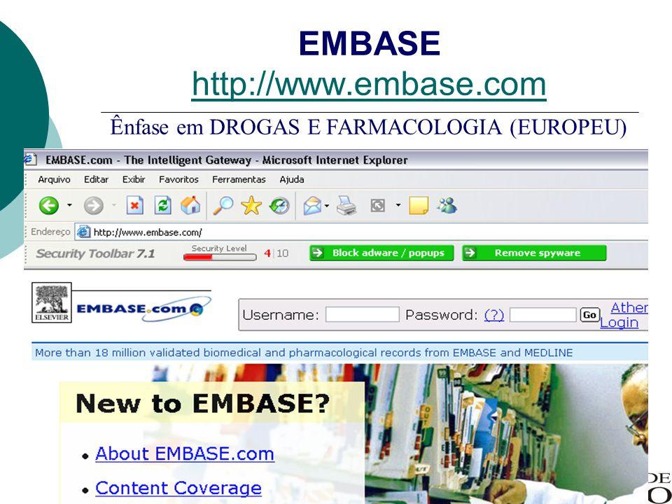 EMBASE http://www.embase.com
