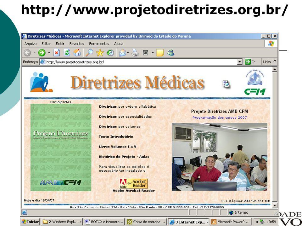 http://www.projetodiretrizes.org.br/