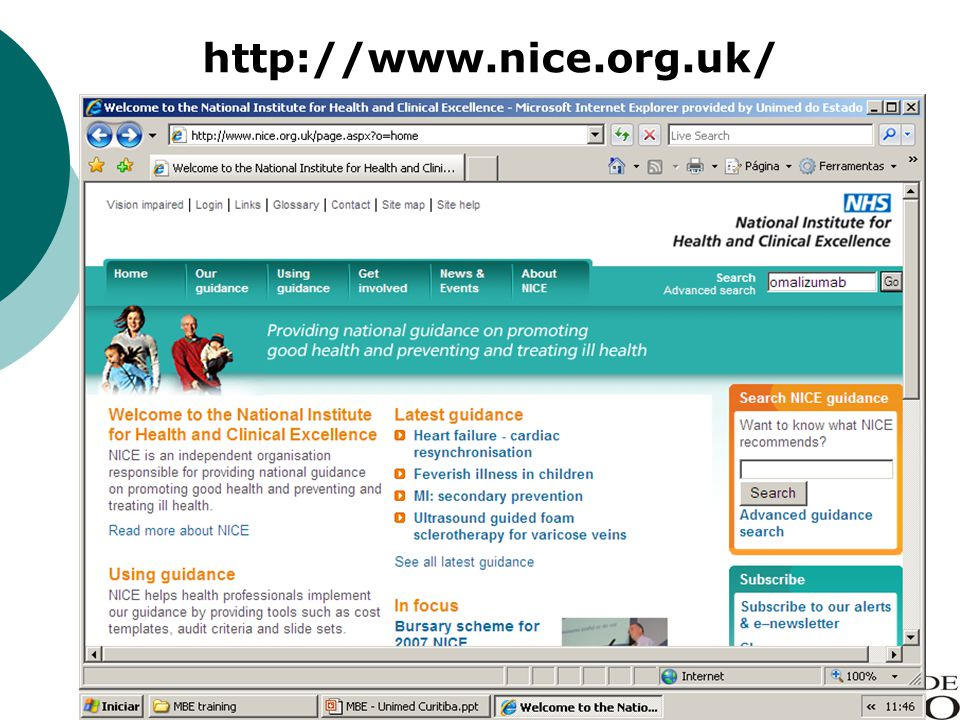http://www.nice.org.uk/