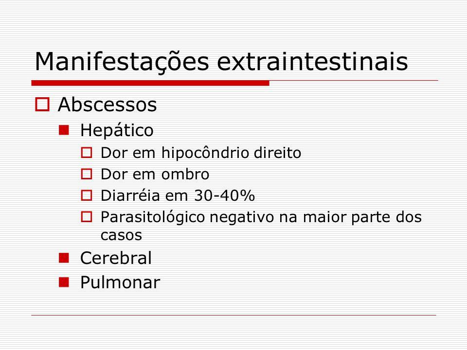 Manifestações extraintestinais