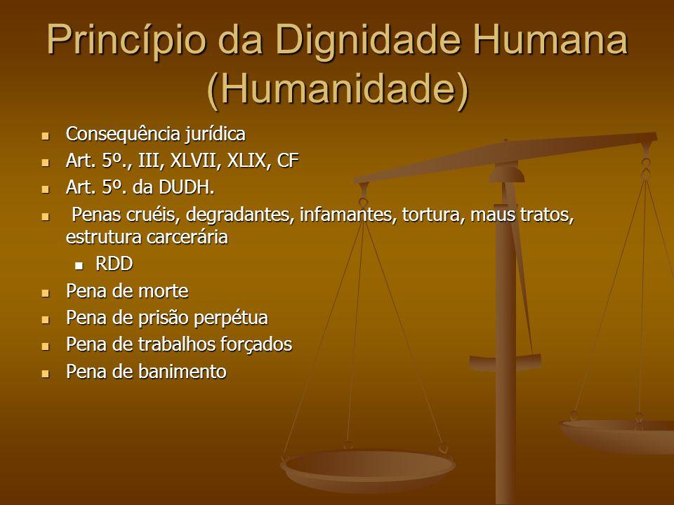 Princípio da Dignidade Humana (Humanidade)