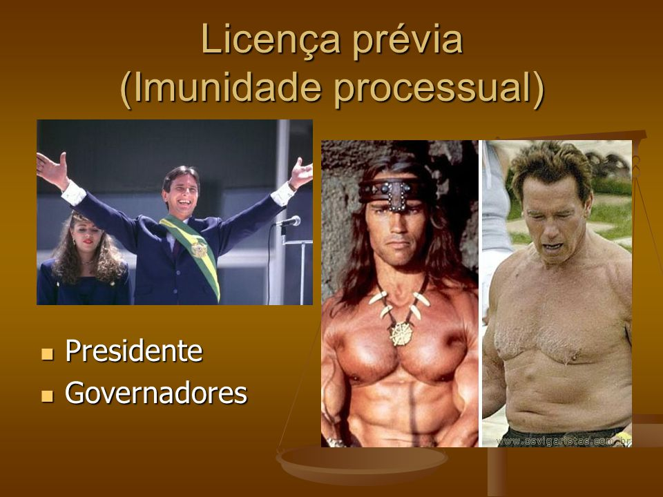 Licença prévia (Imunidade processual)