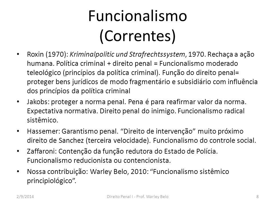 Funcionalismo (Correntes)