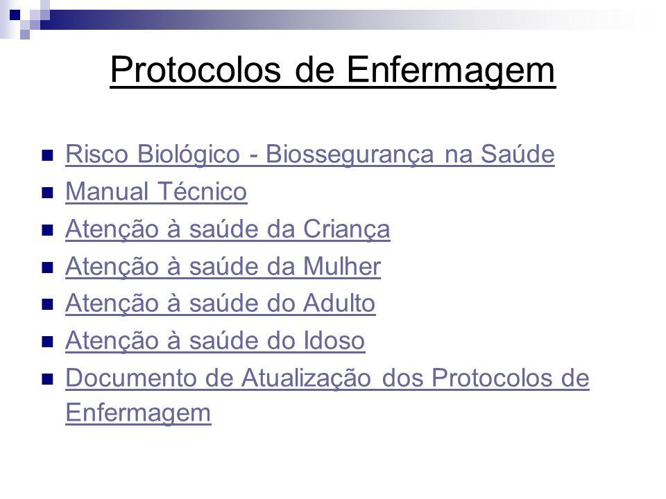 Protocolos de Enfermagem