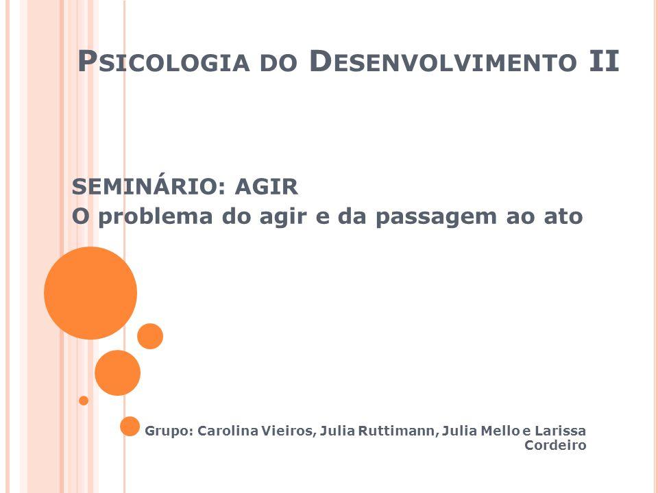 Psicologia do Desenvolvimento II