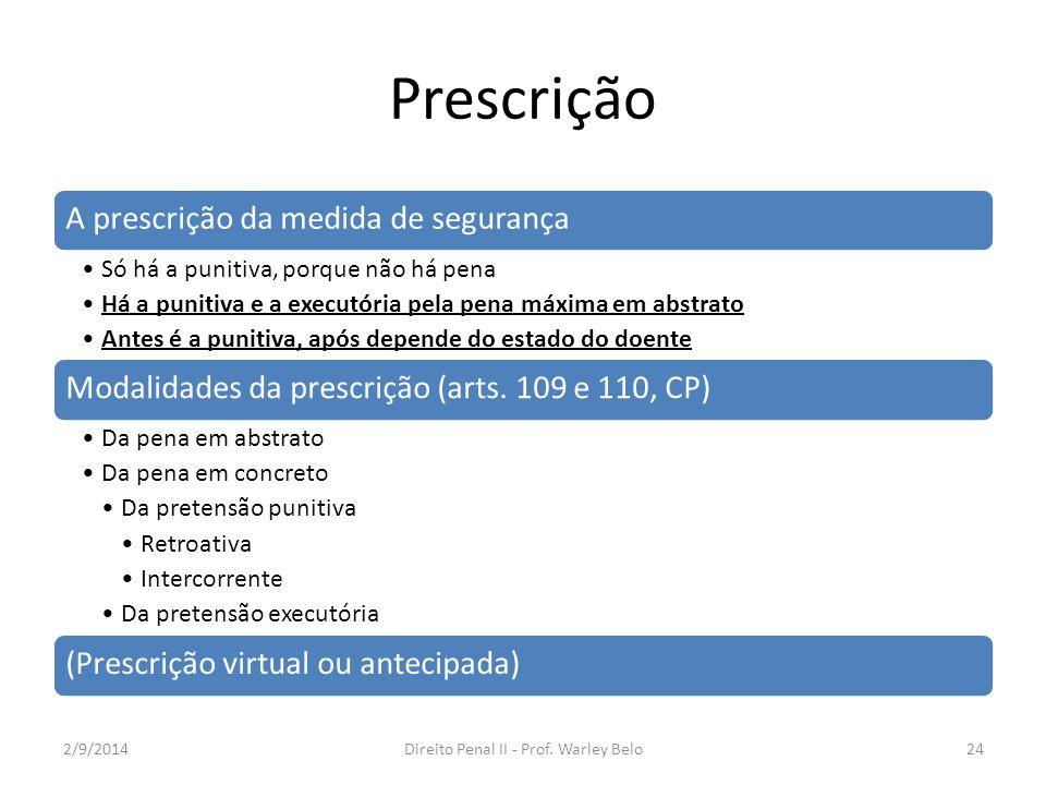 Direito Penal II - Prof. Warley Belo