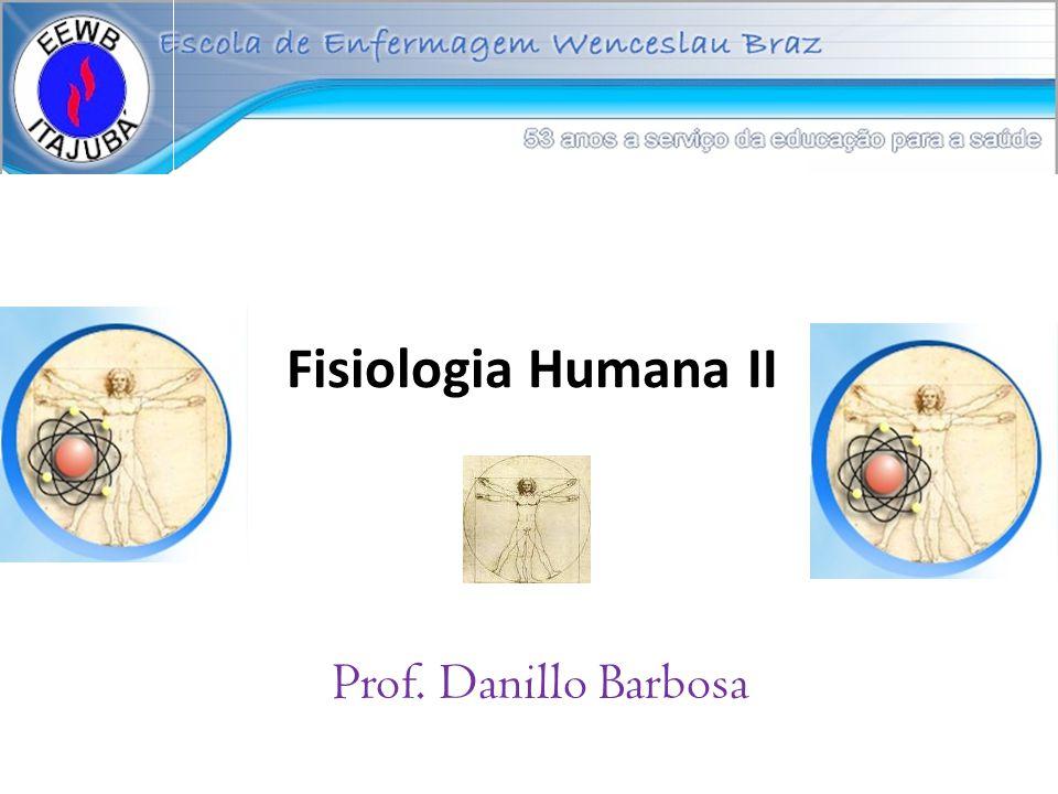 Fisiologia Humana II Prof. Danillo Barbosa