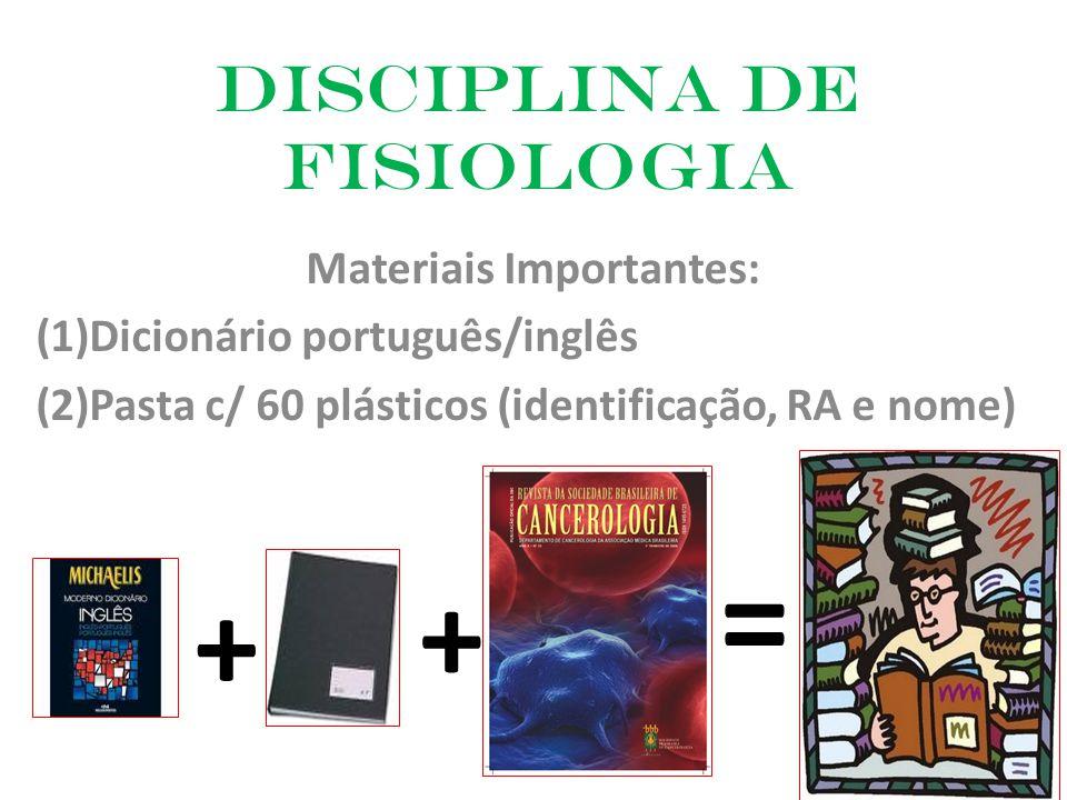 Disciplina de Fisiologia