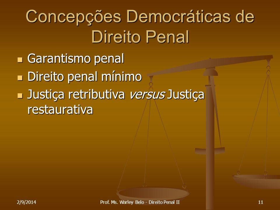 Concepções Democráticas de Direito Penal