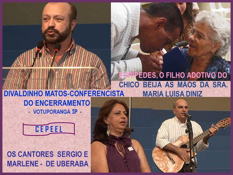 OS CANTORES SERGIO E MARLENE - DE UBERABA