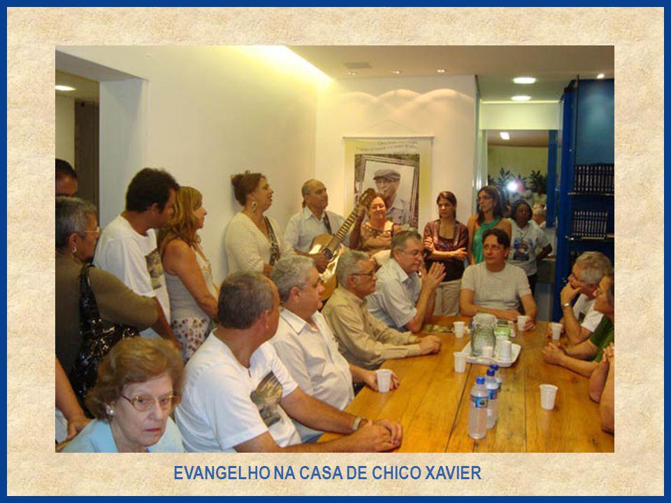 EVANGELHO NA CASA DE CHICO XAVIER