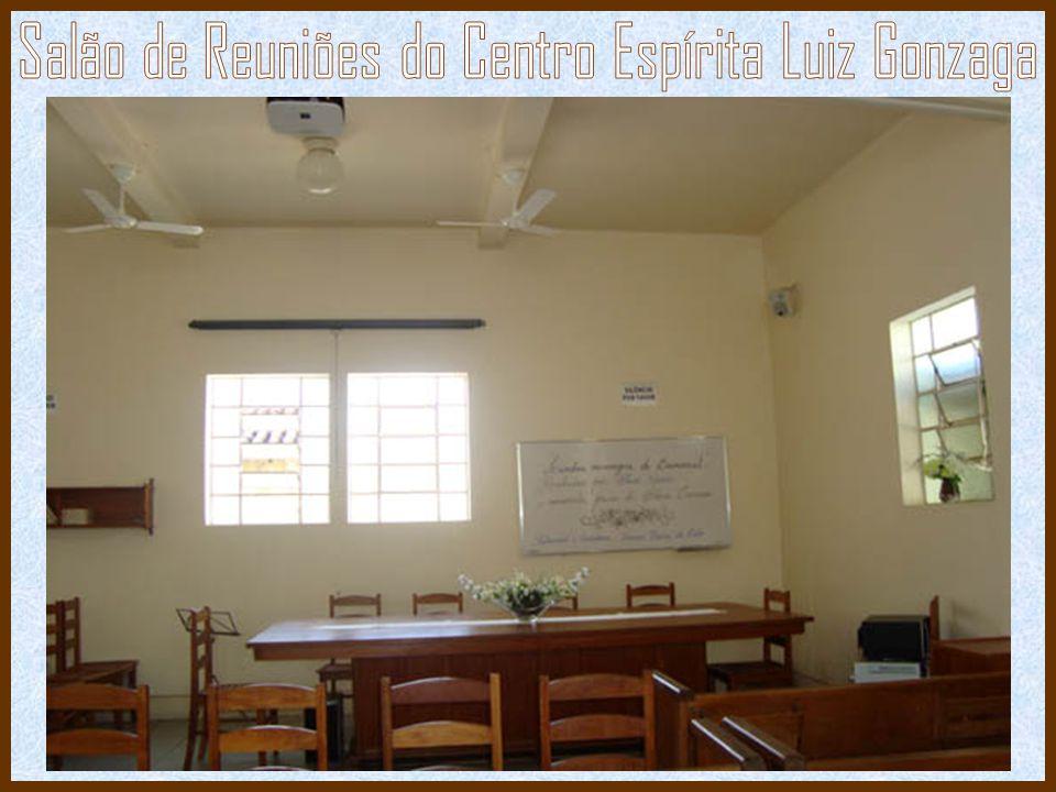 Salão de Reuniões do Centro Espírita Luiz Gonzaga