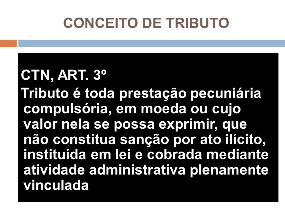 CONCEITO DE TRIBUTO