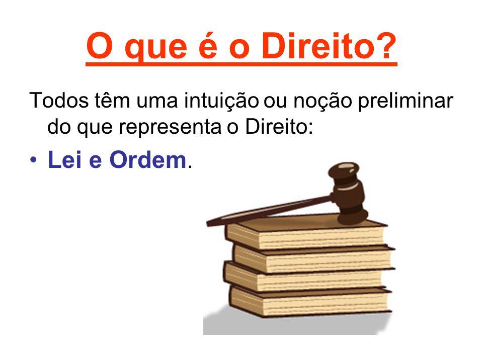 O que é o Direito Lei e Ordem.