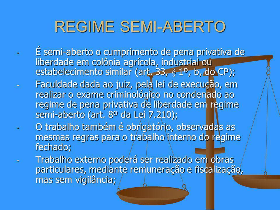 REGIME SEMI-ABERTO