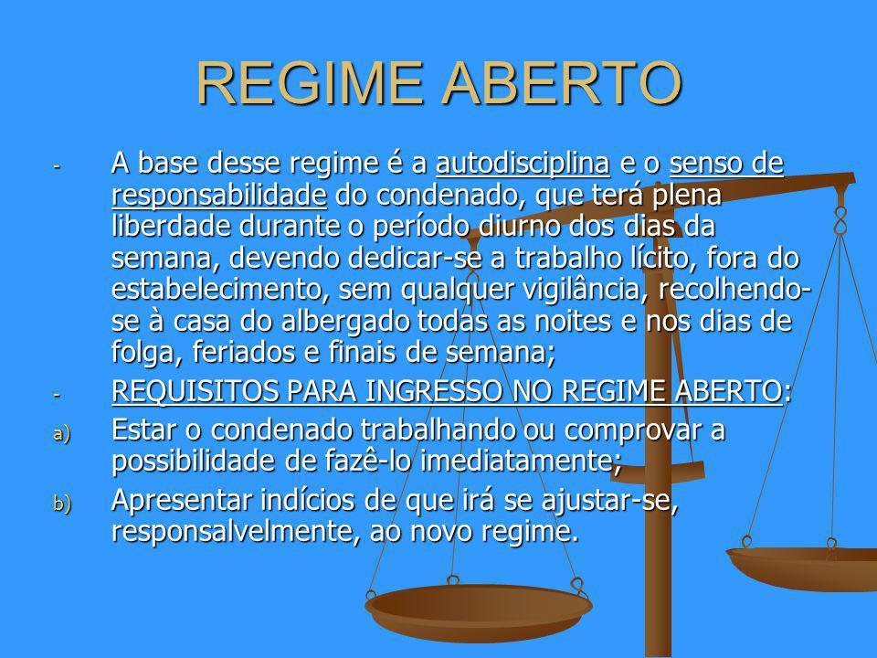 REGIME ABERTO