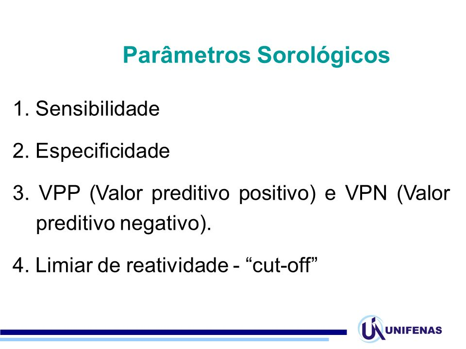 Parâmetros Sorológicos