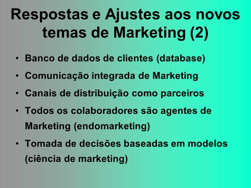 Respostas e Ajustes aos novos temas de Marketing (2)