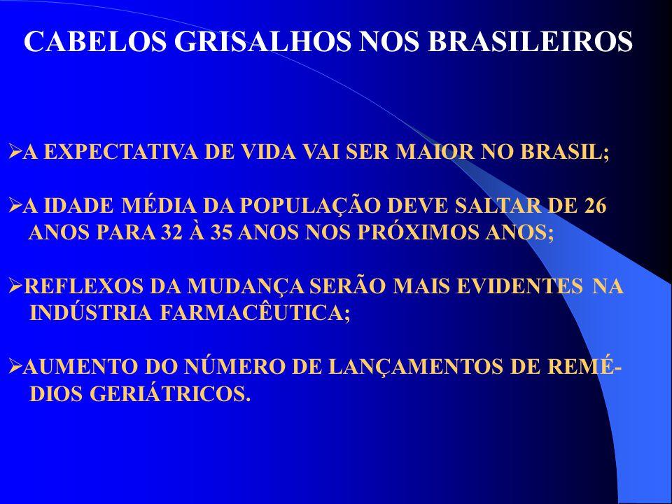 CABELOS GRISALHOS NOS BRASILEIROS