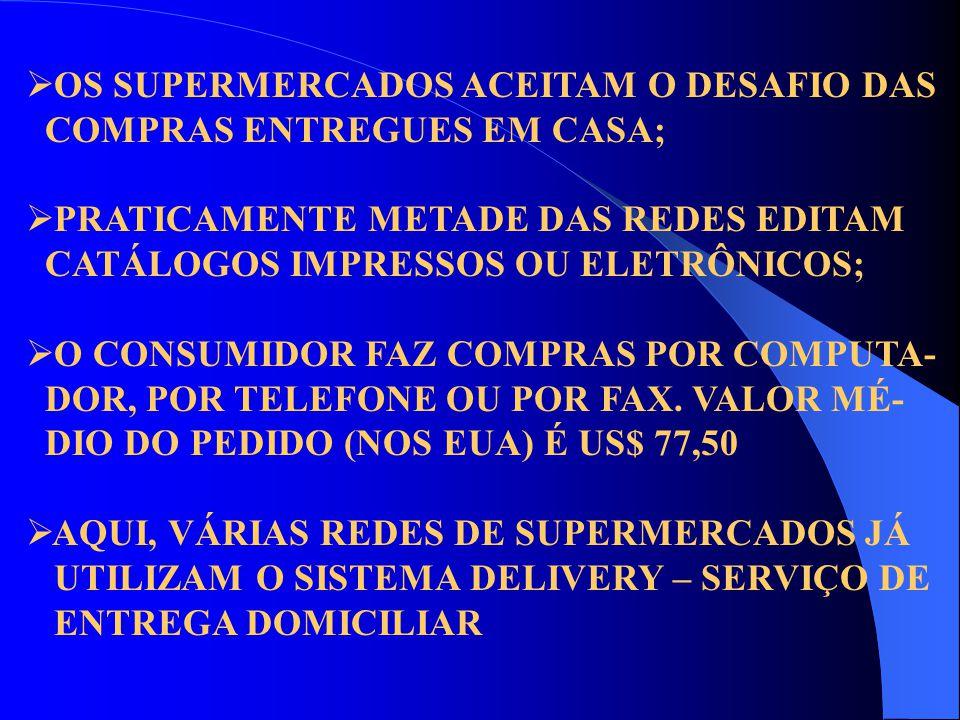 OS SUPERMERCADOS ACEITAM O DESAFIO DAS