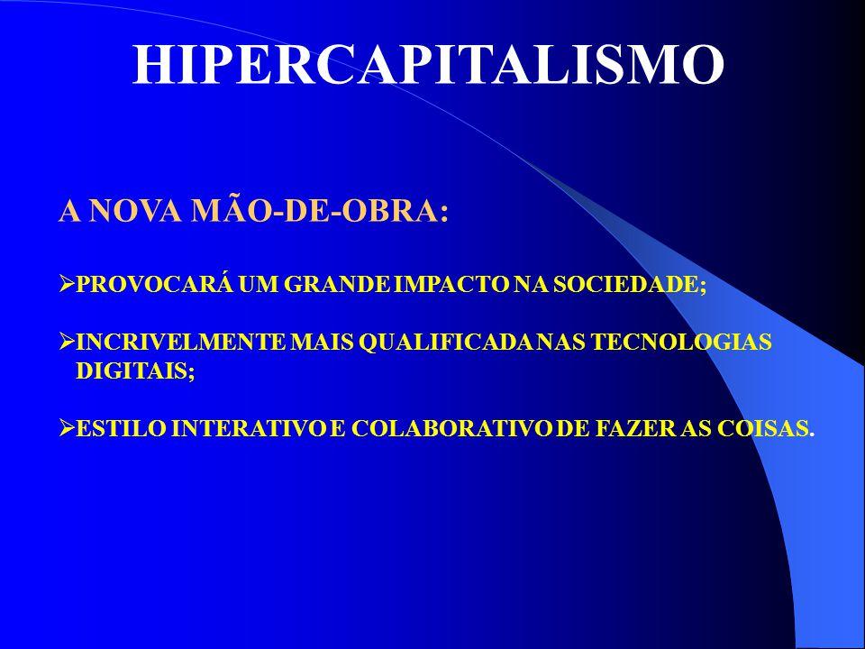 HIPERCAPITALISMO A NOVA MÃO-DE-OBRA:
