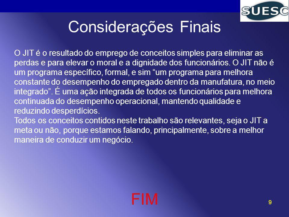 Considerações Finais FIM