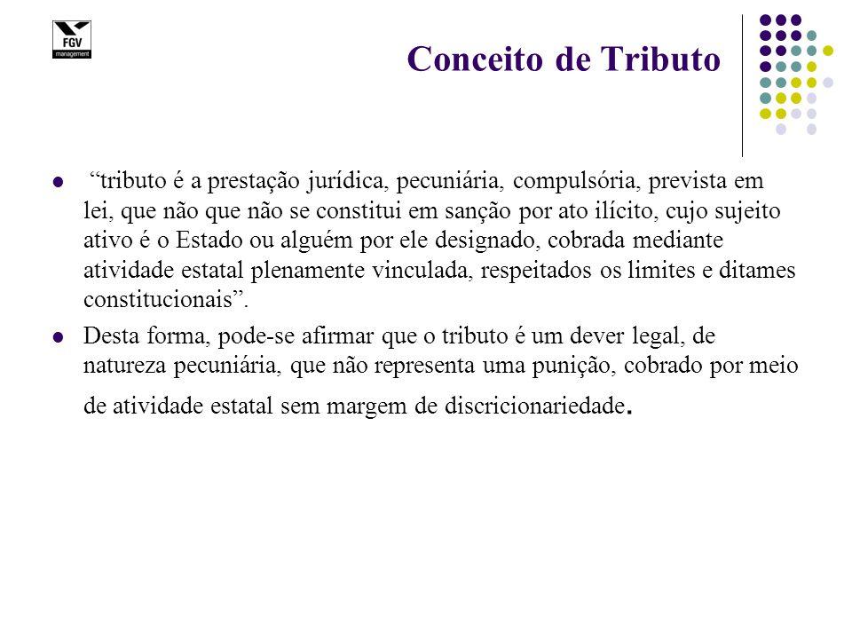 Classificação de tributos