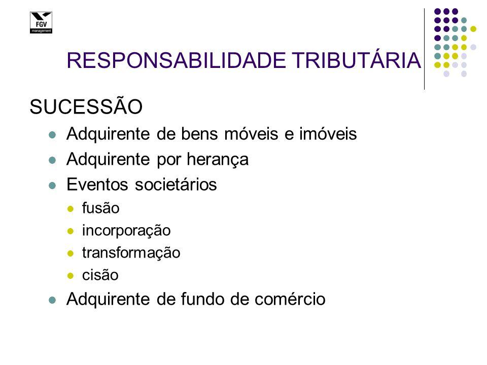 RESPONSABILIDADE DE TERCEIROS