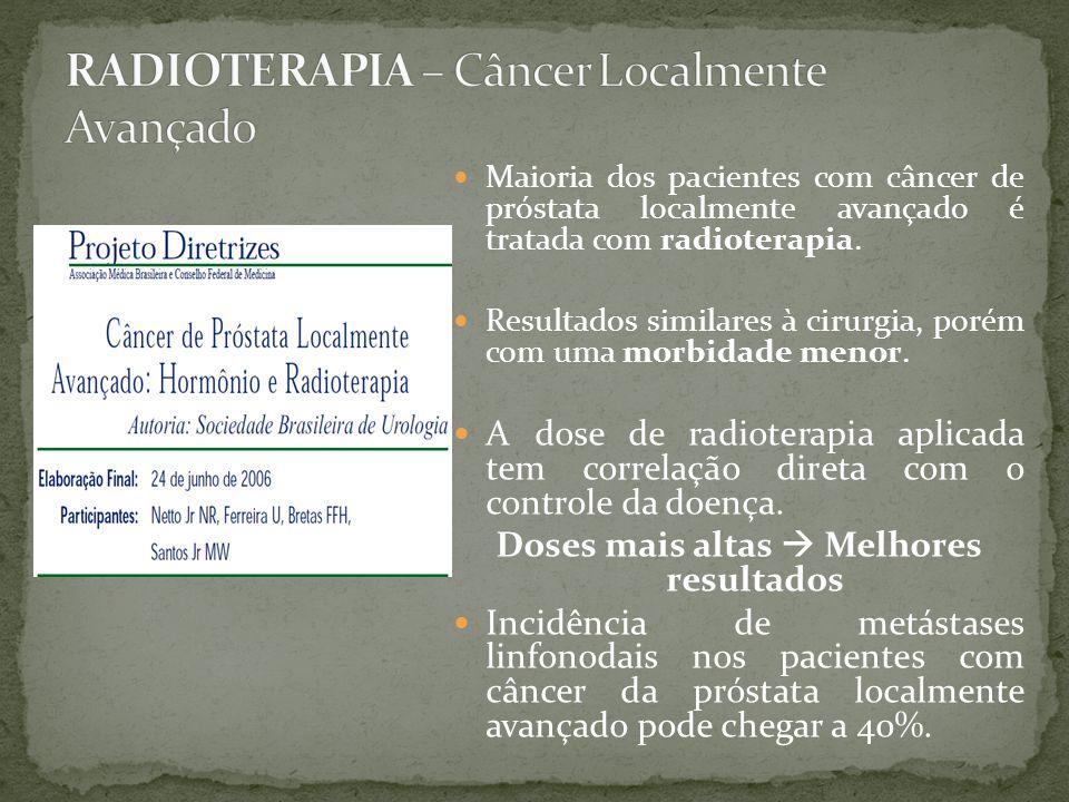RADIOTERAPIA – Câncer Localmente Avançado