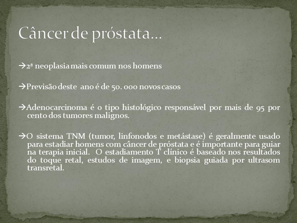 Câncer de próstata...